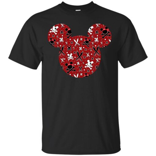 Mickey of the Caribbean Cotton T-Shirt