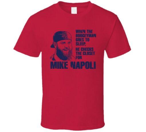 Mike Napoli Boston Baseball Player T Shirt