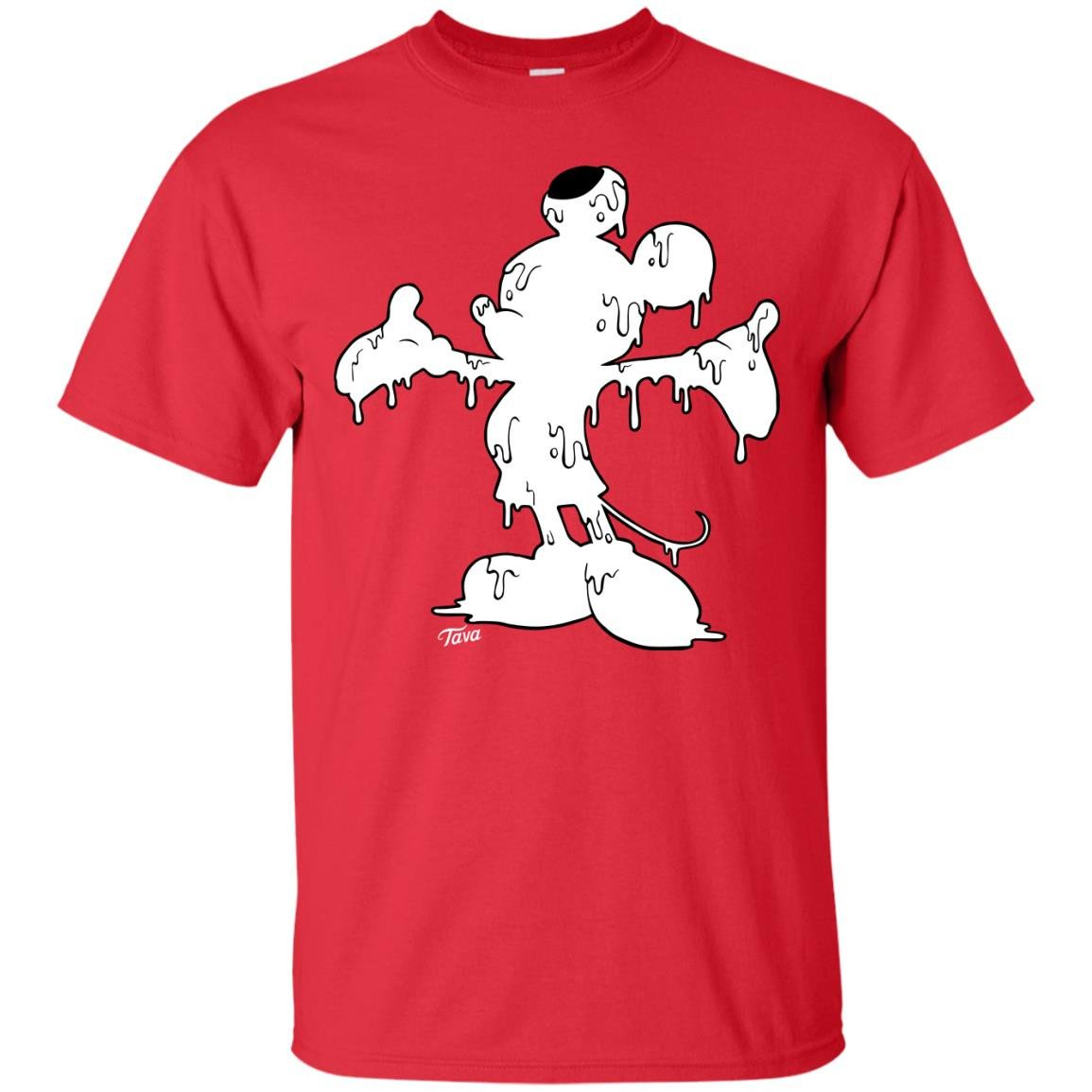 Milky Mickey White Cotton T-Shirt