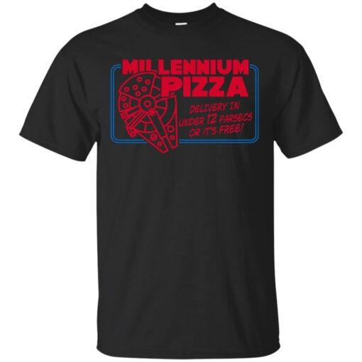 Millennium Pizza Delivery Cotton T-Shirt