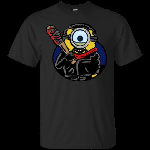 Minegan the walking dead Cotton T-Shirt