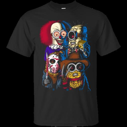 Mini Evil Parody trick or treat Cotton T-Shirt
