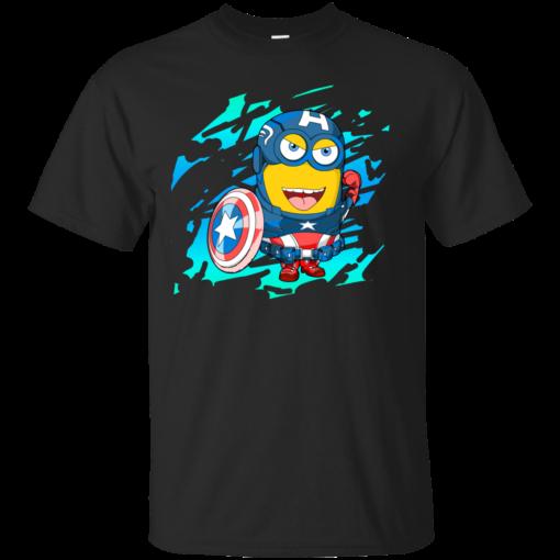 Mini SteveRog Special Edition minion Cotton T-Shirt