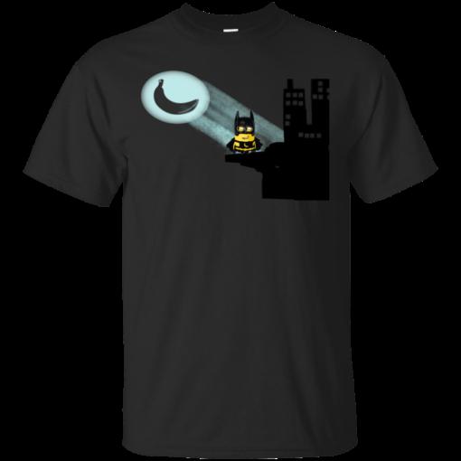 Minion Batman bat man Cotton T-Shirt
