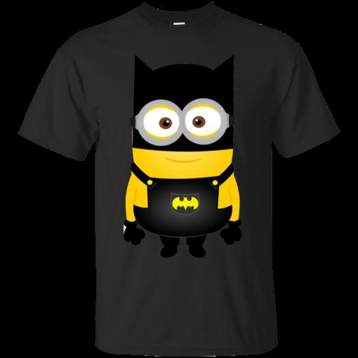 Minion Batman minions Cotton T-Shirt
