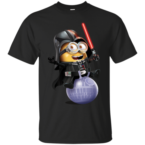 Minion Darth Vader minion Cotton T-Shirt