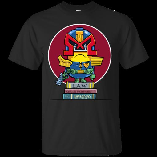 Minion Dredd parody Cotton T-Shirt