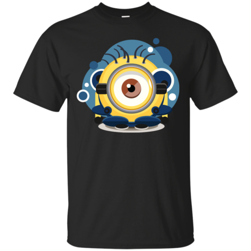 Minion Eye abstract Cotton T-Shirt