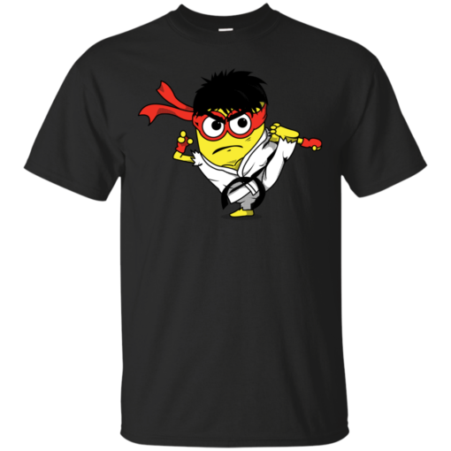 Minion Fighter movie Cotton T-Shirt