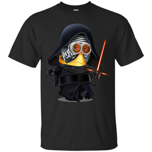 Minion Kylo Ren sith lord Cotton T-Shirt