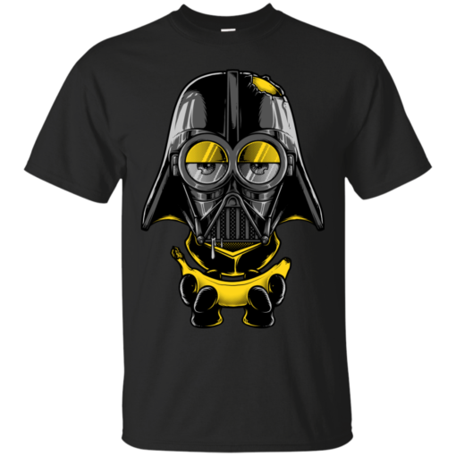 Minion Vader teepublic exclusive print Cotton T-Shirt