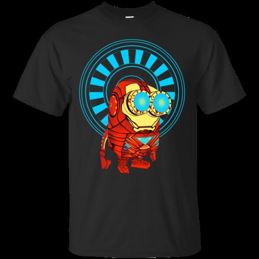 Minion in as Ironman tony stark Cotton T-Shirt