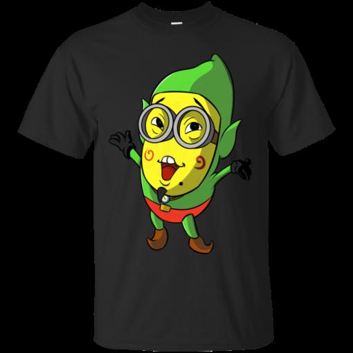 MinionTingle zelda  Cotton T-Shirt