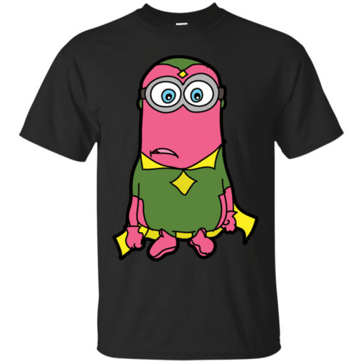 Minions Assemble Mision cute Cotton T-Shirt