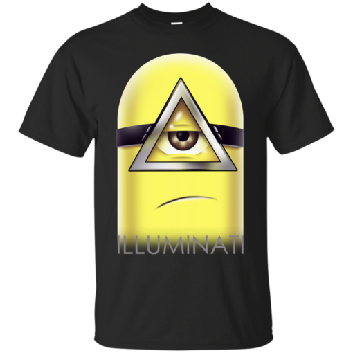 Minions Illuminati minions  Cotton T-Shirt