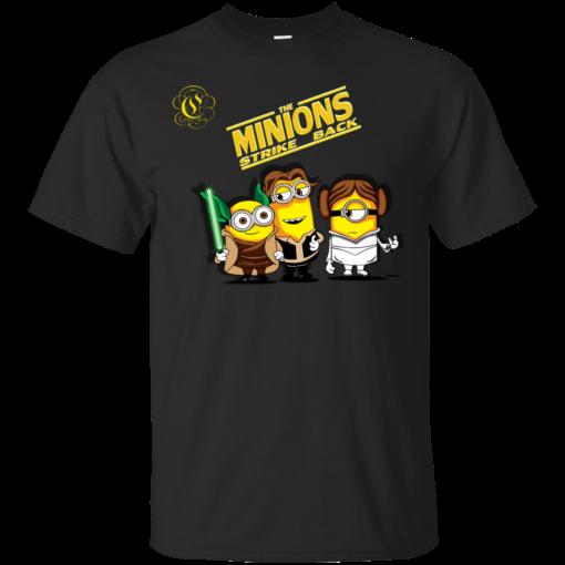 Minions Strike Back minions Cotton T-Shirt