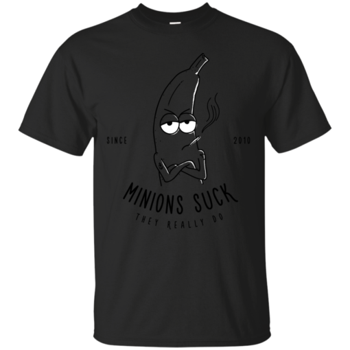 Minions Suck minions Cotton T-Shirt