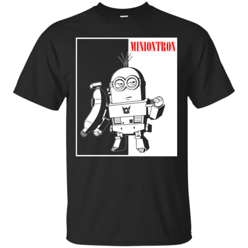 Miniontron minions transformers Cotton T-Shirt