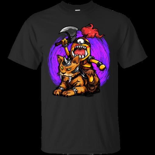 Miniorc Raider cute Cotton T-Shirt