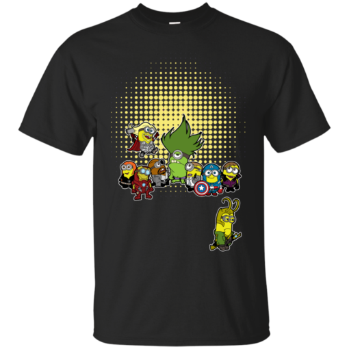 Minvengers pop culture Cotton T-Shirt