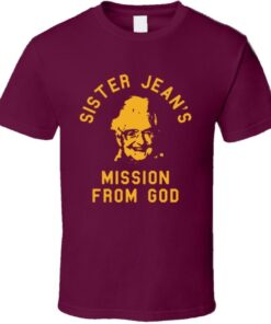 Mission Loyola Chicago Sister Jean De Rambler God Crazy Cool Fan T Shirt