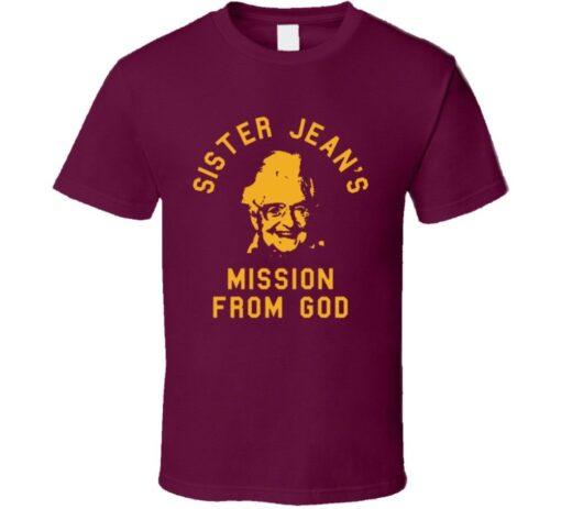 Mission Loyola Chicago Sister Jean De Rambler God Crazy Cool Fan T Shirt