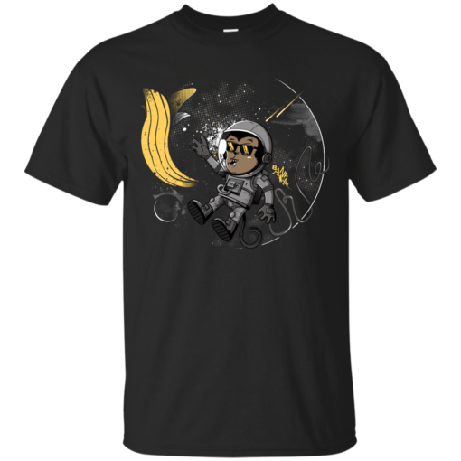 Monkey Dreams banana Cotton T-Shirt