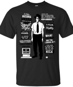 Moss Quotes Cotton T-Shirt