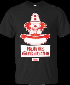 Mr Ha Has Hotdog Hacienda Cotton T-Shirt