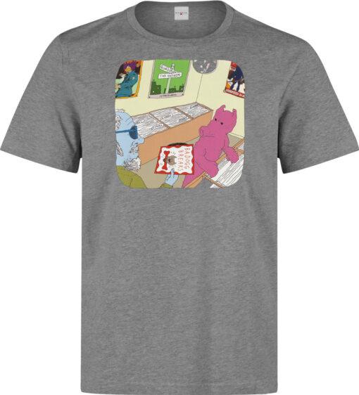 Mr. Quasimoto The Invisible Badogg Breaks High Quality Gray Men T Shirt
