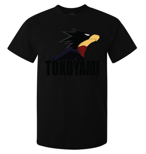 My Hero Black Top Quality Men Tokoyami Academy (Available For Women) T Shirt
