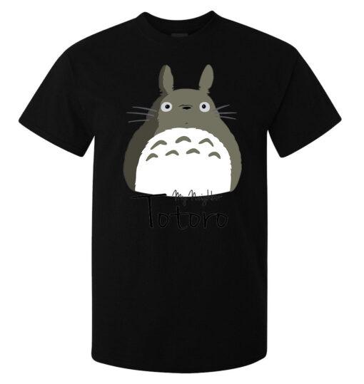 My Neighbor Totoro Cute Black Gray Art Stylish Men (Women Available) T T Shirt