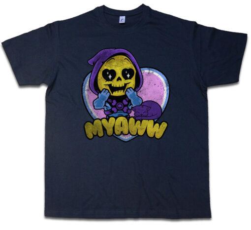 Myaww Prince Adam Masters Series Fun Battle Cat Man Universe T Shirt