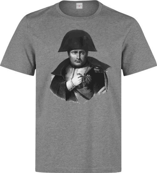 Napoleon Bonaparte Men Boceto Illustrations Available (For Women) Gray T Shirt