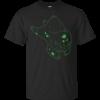 Neon Bulbasaur pokeball Cotton T-Shirt