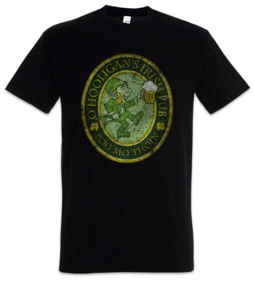 O Hooligans Irish Pub Vintage - Ireland Belfast Dublin Beer T Shirt