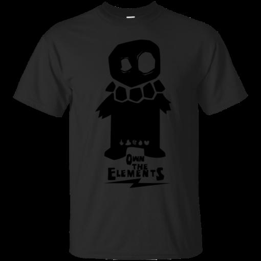 OTE Skull minion own the elements Cotton T-Shirt