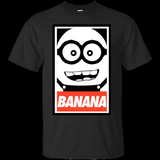 Obey Banana minion Cotton T-Shirt