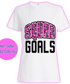 Objectives Of Women Ladies Girls Squad Sparkle Princess Glitter Tumblr Famous T Shirt