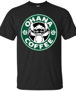 Ohana Coffee Cotton T-Shirt