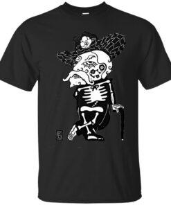 Ole Miss University of Mississippi Rebel Sugar Skull Cotton T-Shirt