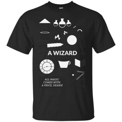 Once Upon A Time A Wizard Cotton T-Shirt