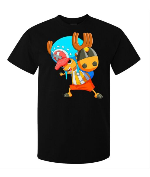 One Piece (Available Women) Black Doctor Tony Tony Chopper Men T Shirt