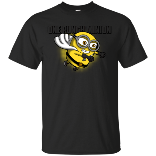 One Punch Minion one punch man Cotton T-Shirt