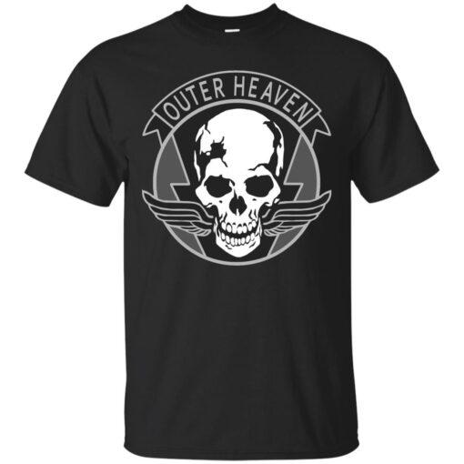 Outer Heaven Logo Cotton T-Shirt