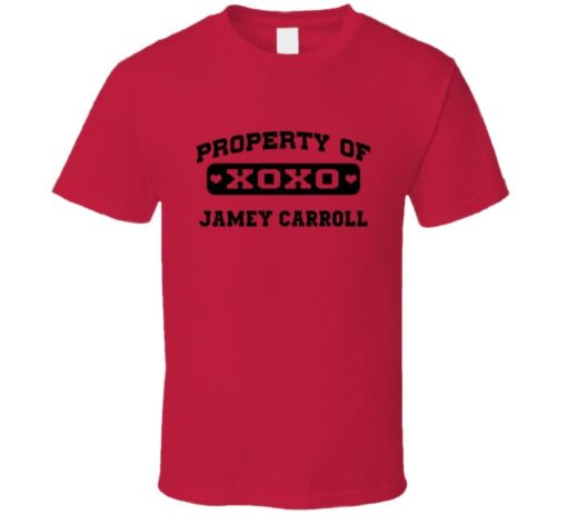 Owned By Jamey Carroll Cleveland Baseball 2009 T T Shirt