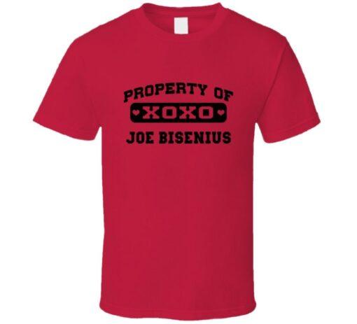 Owned By Joe Bisenius 2007 Philadelphia Baseball T T Shirt