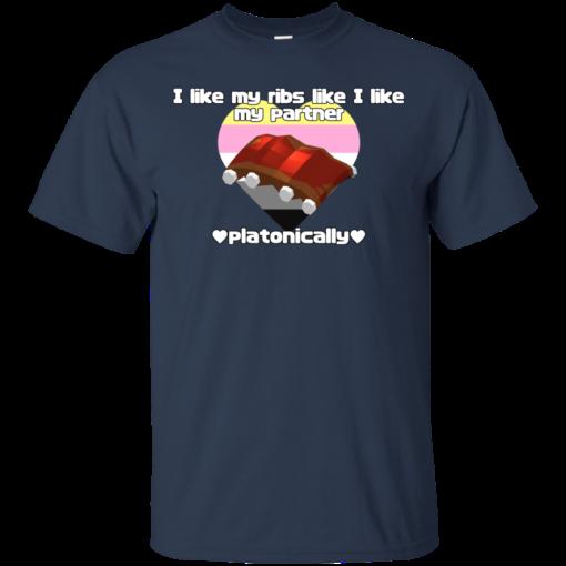 PLATONIC RIBS Cotton T-Shirt
