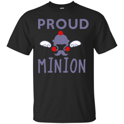 PROUD MINION supernatural Cotton T-Shirt