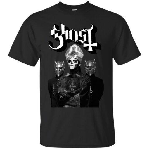 Papa Emeritus III and 2 Nameless Ghouls Cotton T-Shirt